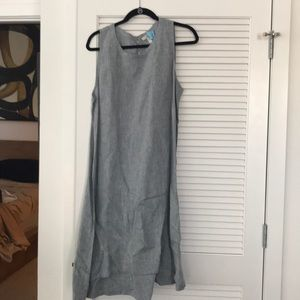 Eileen Fisher Chambray Tank Dress